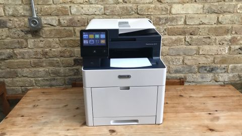 Printer on table