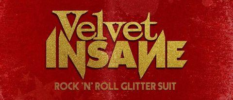 Velvet Insane: Rock 'N' Roll Glitter Suit