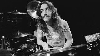 Neil Peart in 1977