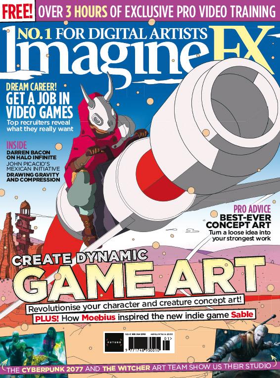 Create dynamic game art with ImagineFX