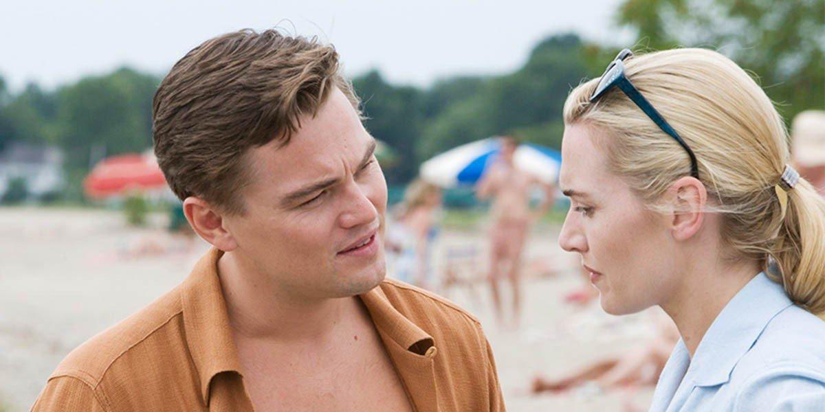 Leonardo DiCaprio and Kate Winslet in Revolutionary Road