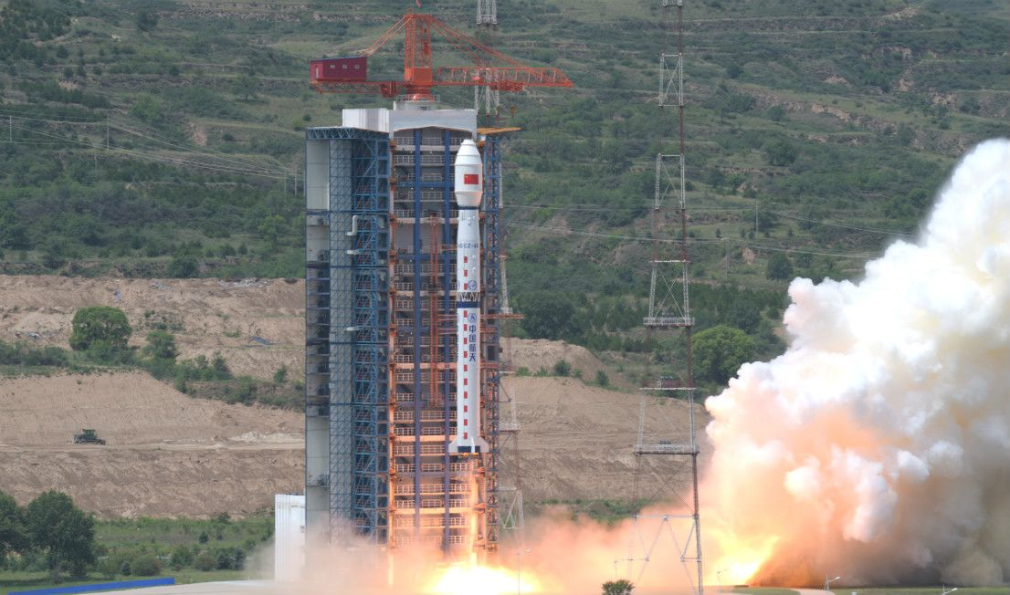China launches 3 satellites on 2 rockets in 3 days