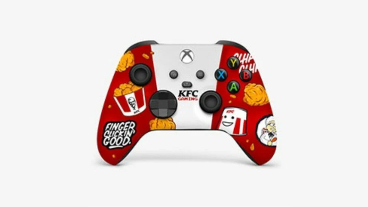 Xbox Series X Controller Gets A Kfc Makeover And It Looks Clucked Up T3