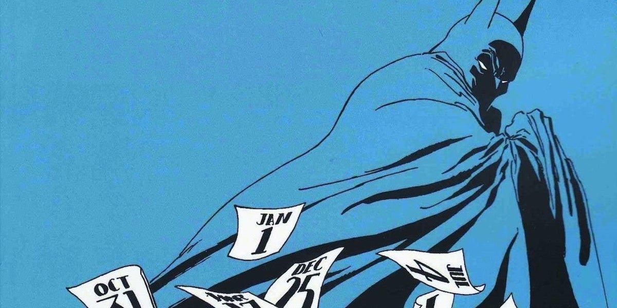 Batman: The Long Halloween comics artwork