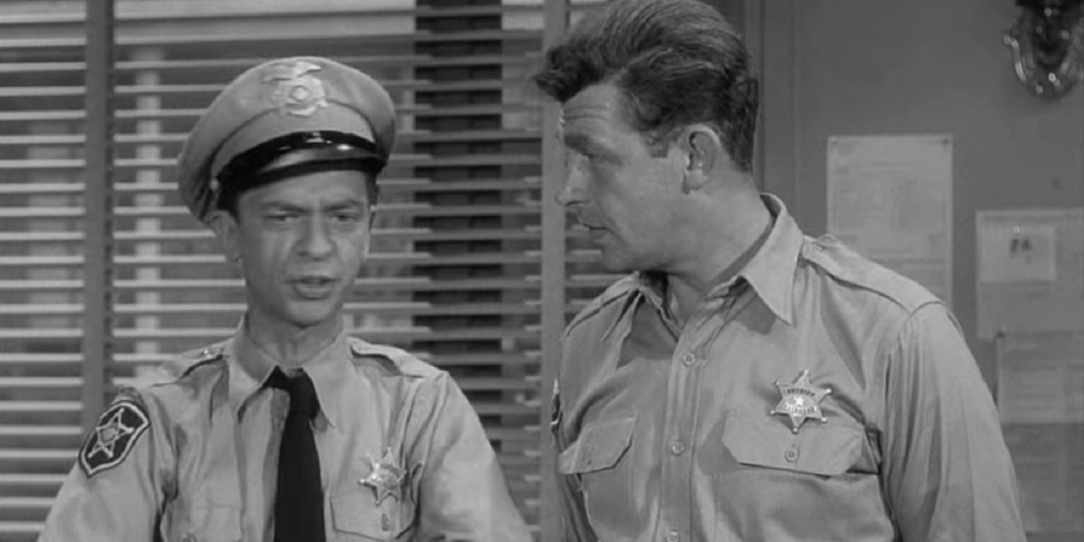 Don Knotts and Andy Griffith in The Andy Griffith Show