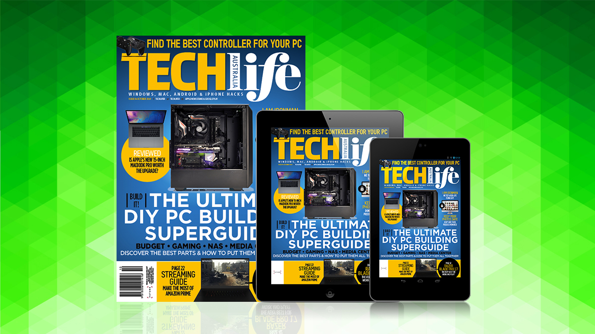 TechLife's October 2019 issue is out now! | TechRadar