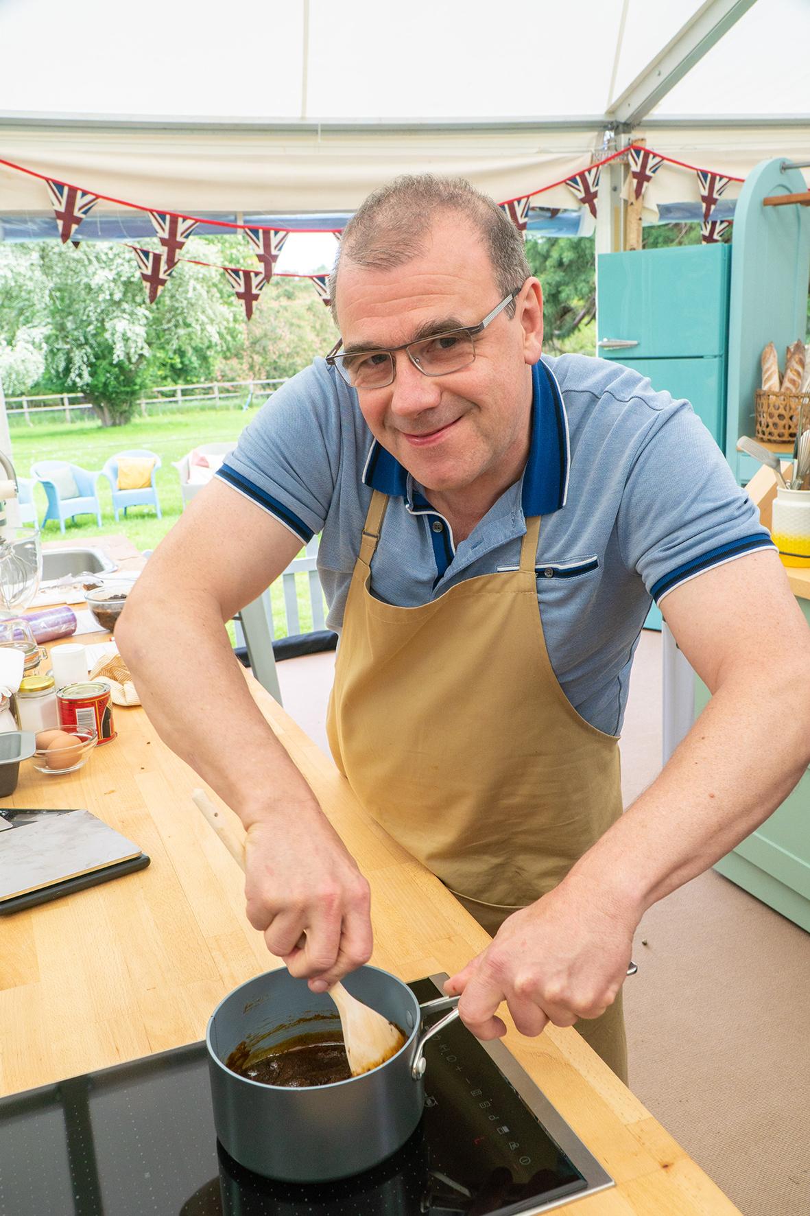 Jurgen The Great British Bake Off