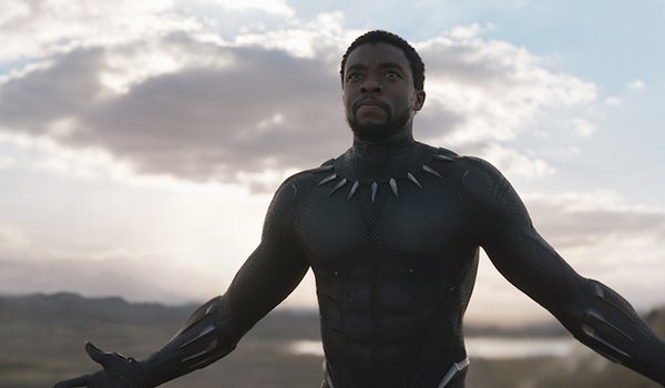 T'Challa in Black Panther
