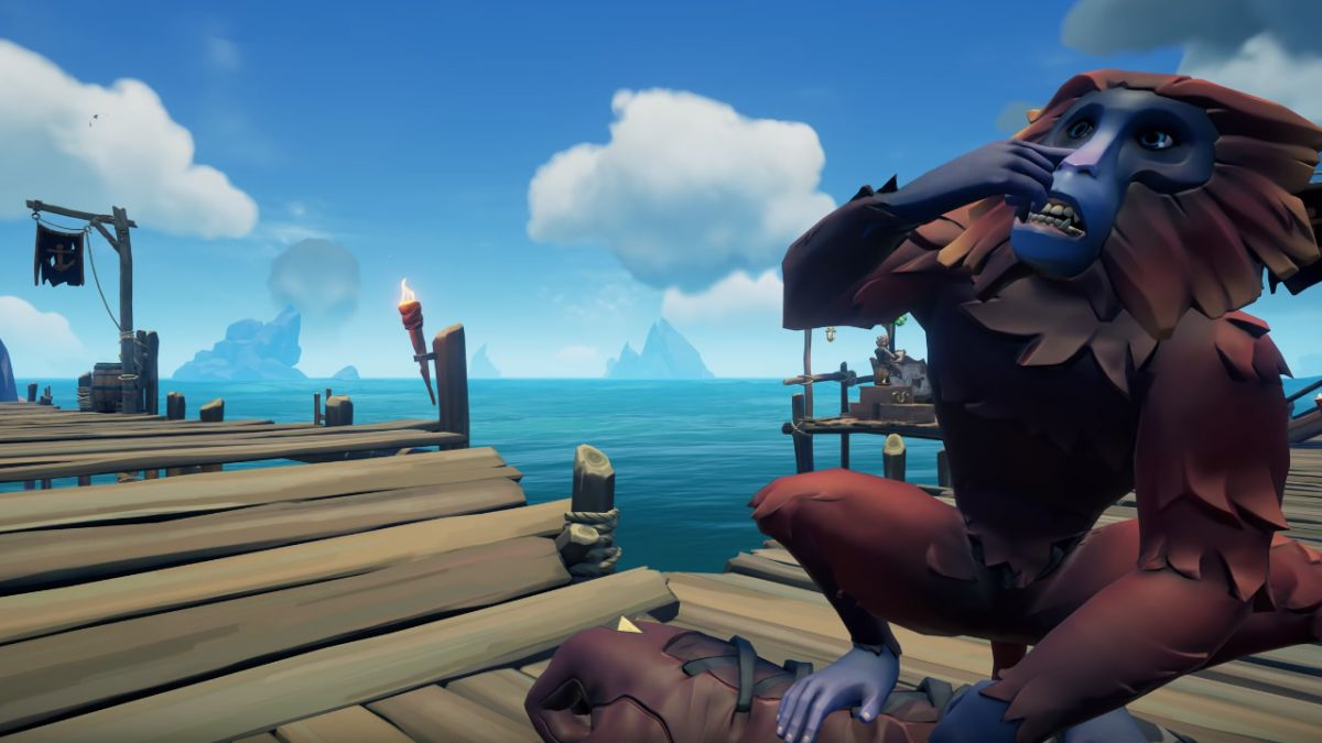Dancing pet monkeys are coming to Sea of Thieves this week