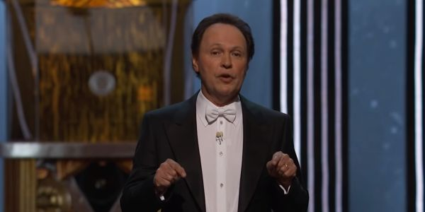 Billy Crystal performing monologue at 2012 Oscars