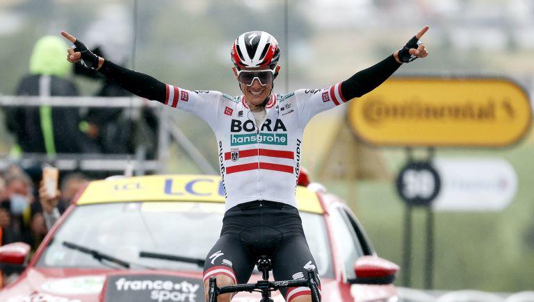 Patrick Konrad wins stage 16 of the Tour de France 2021