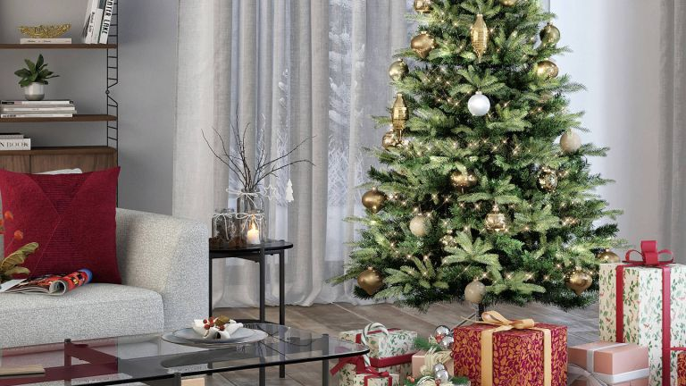 Click and collect Christmas trees: John Lewis & Partners Belgravia Pre-Lit Christmas Tree