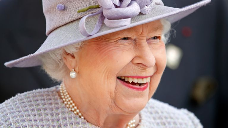 Queen Elizabeth II attends QICPO British Champions Day at Ascot Racecourse on October 19, 2019 in Ascot, England
