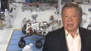 William Shatner voices NASA video about Mars rover Curiosity