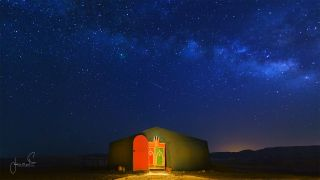Meteor Shower in Morocco