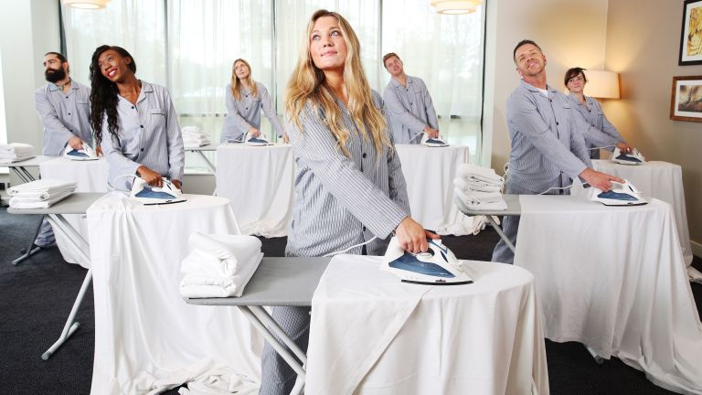Ironing to de-stress - Hilton Garden Inn will be launching its first session at Hilton Garden Inn London Heathrow Airport as a pilot