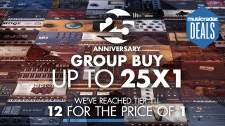 Graphic for IK Multimedia's group buy promotion