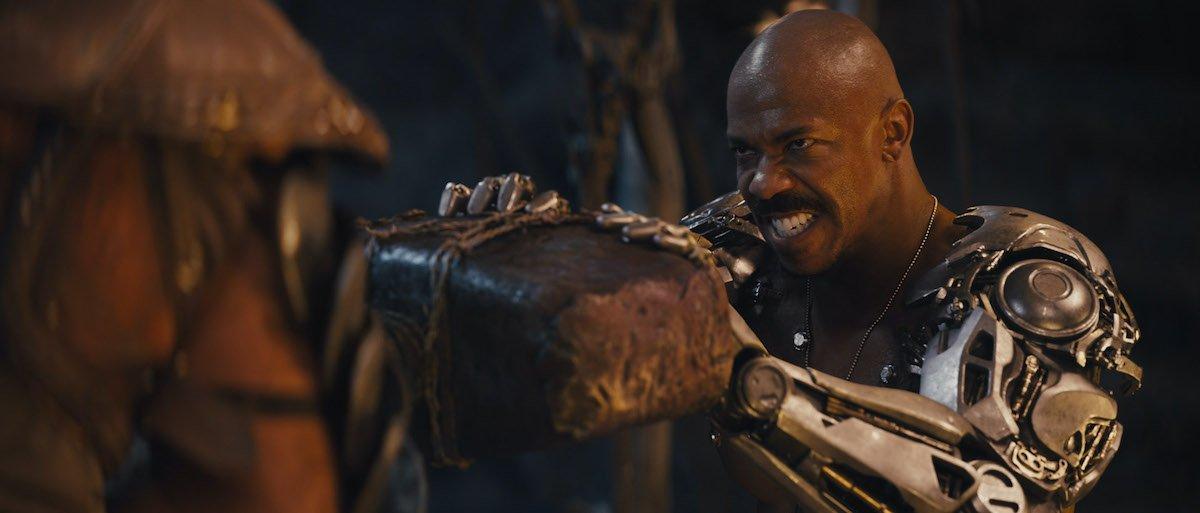 Mehcad Brooks as Jax Briggs in Mortal Kombat