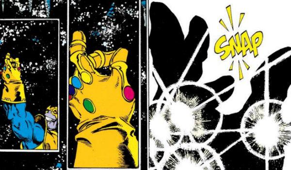 Thanos Infinity Gauntlet snap