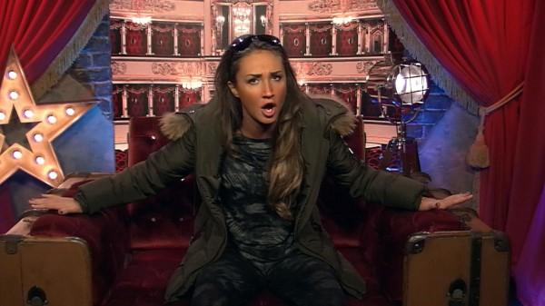 Megan McKenna had a rant in Celebrity Big Brother