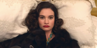 lily james the pursuit of love bbc