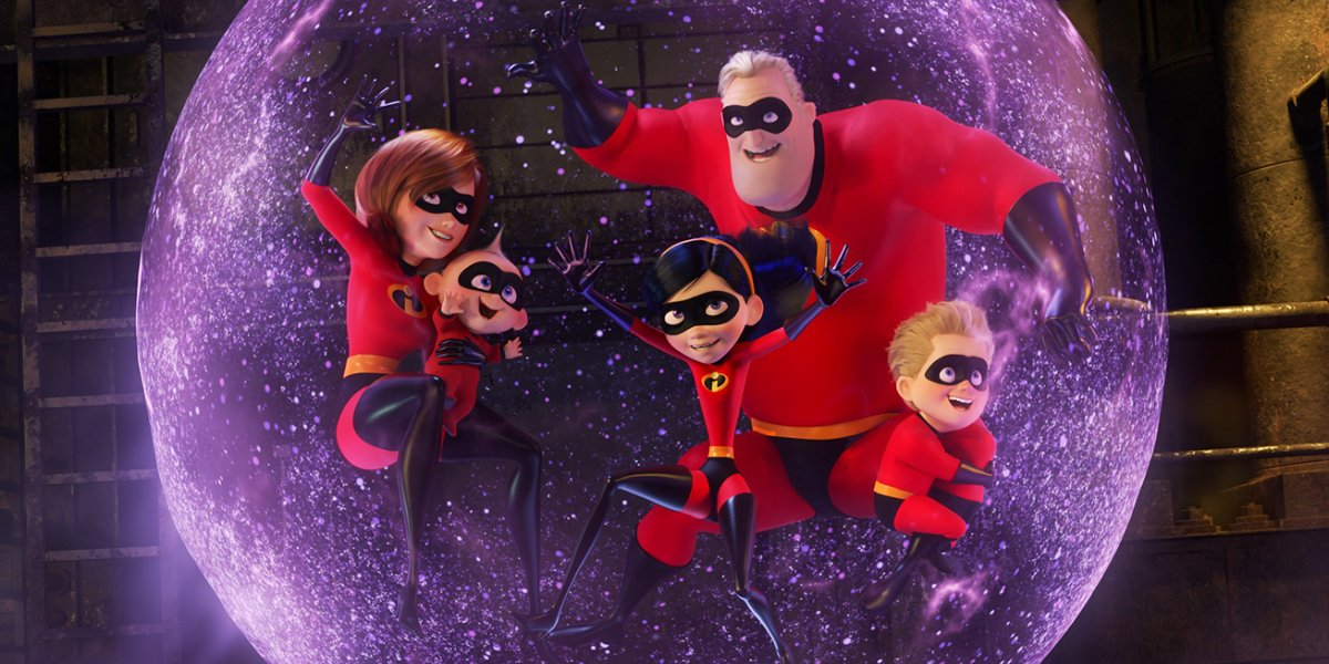 The superhero family of Incredibles 2