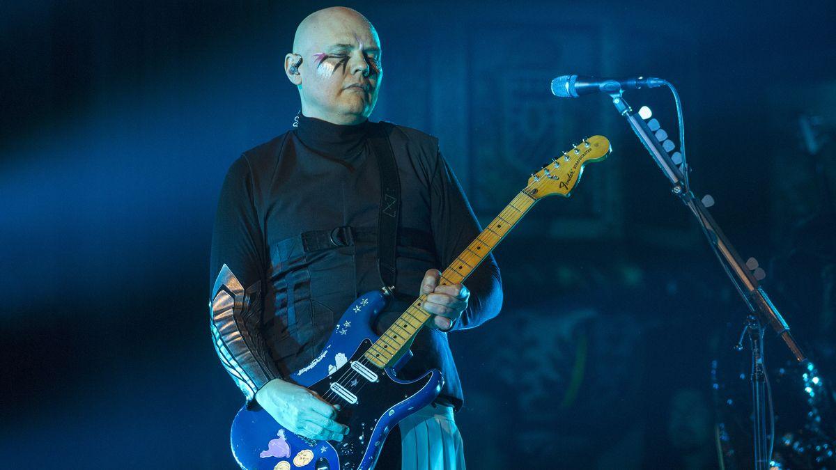 Billy Corgan used a $25 Klon Centaur clone for his tones on the new Smashing Pumpkins album