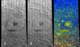 Three views of the Apollo Basin