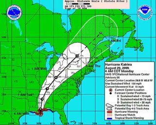 Hurricane Katrina Closes NASA's External Tank Factory
