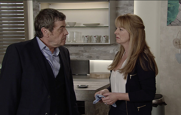 Johnny Connor tells Jenny that she's not welcome at the Chapel of Rest.