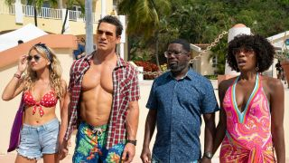 Meredith Hagner, Jon Cena, Lil Rel Howery and Yvonne Orji star in Vacation Friends