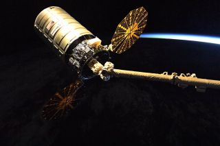Orbital ATK Cygnus cargo ship