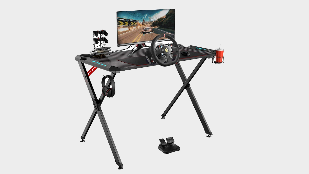 Lock down your ultimate battlestation with these Eureka gaming desks, 20% off for Amazon Prime Day | PC Gamer