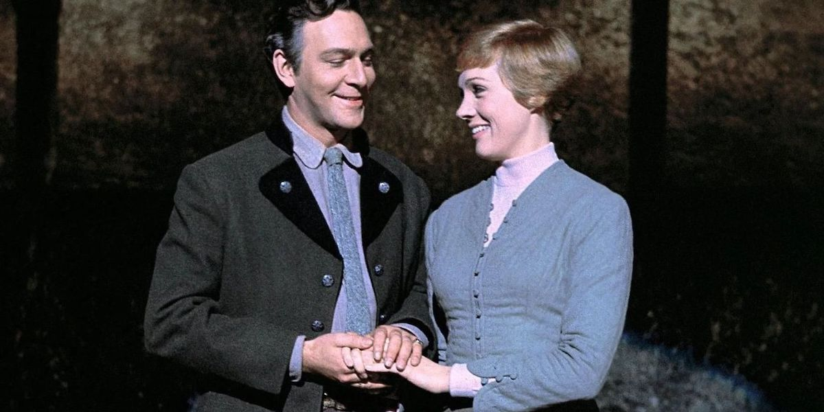 Christopher Plummer and Julie Andrews in Sound of Music