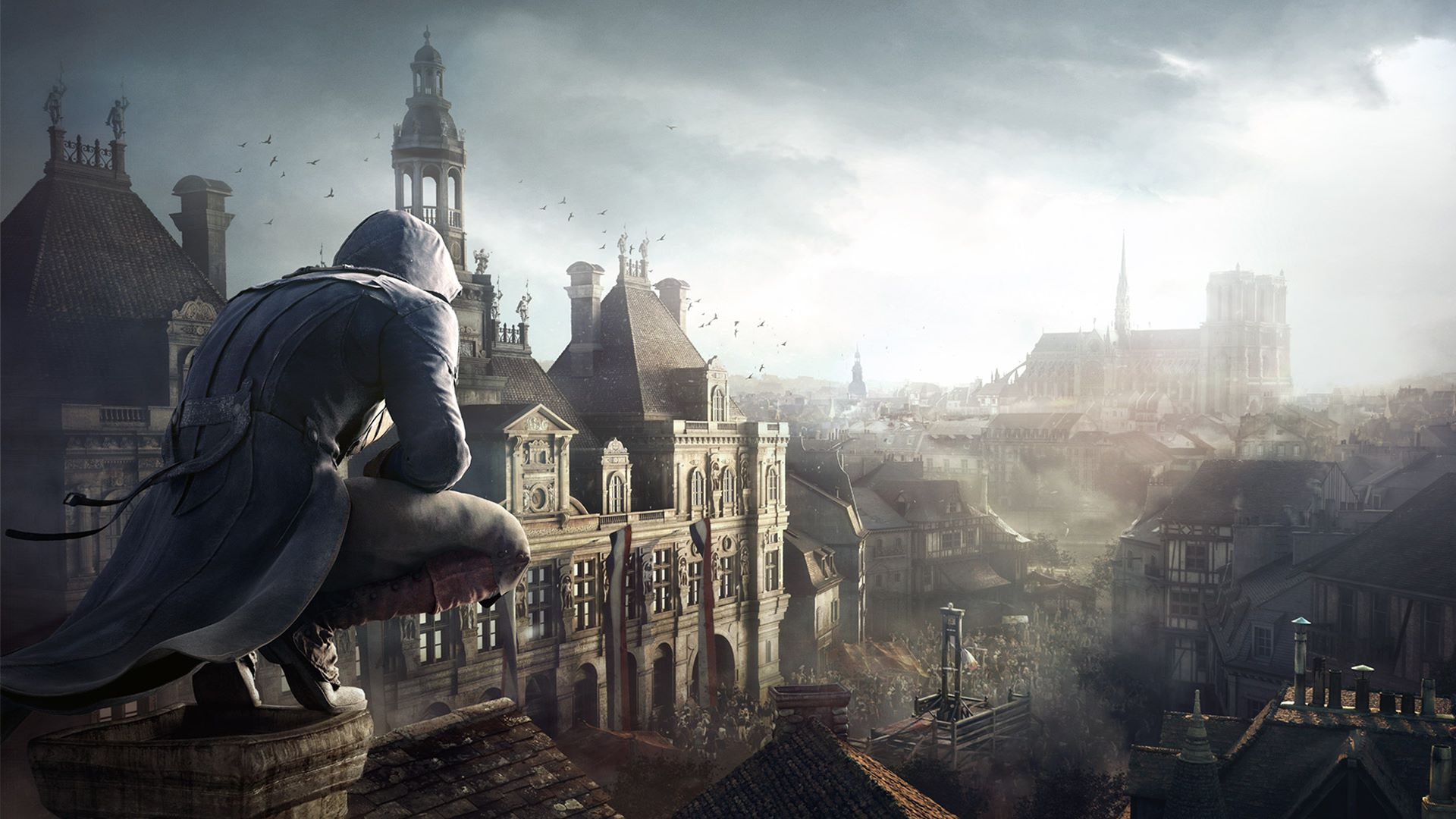 Ubisoft offers Assassin's Creed Unity for free so you can see Notre