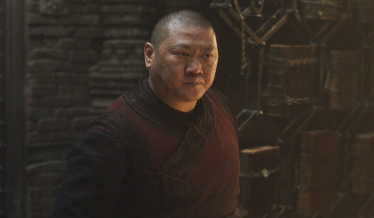Wong looking solemn Marvel