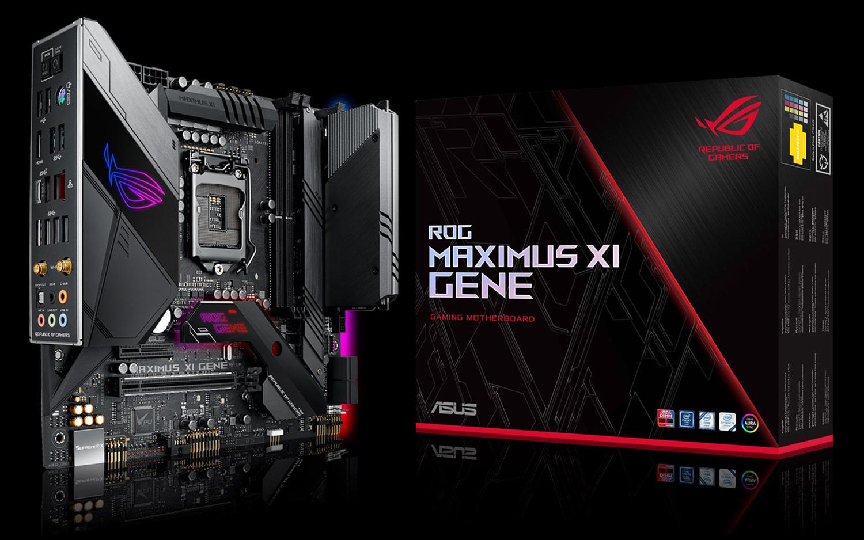 Asus ROG Maximus XI Gene Review: Dual Capacity RAM Meets DIMM.2 - Tom's Hardware | Tom's Hardware