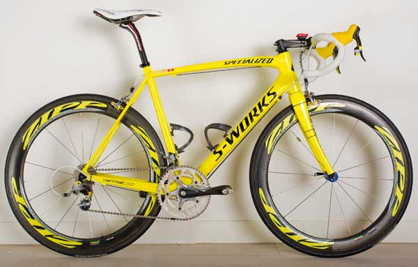 Fabian Cancellara's Specialized team bike 2009