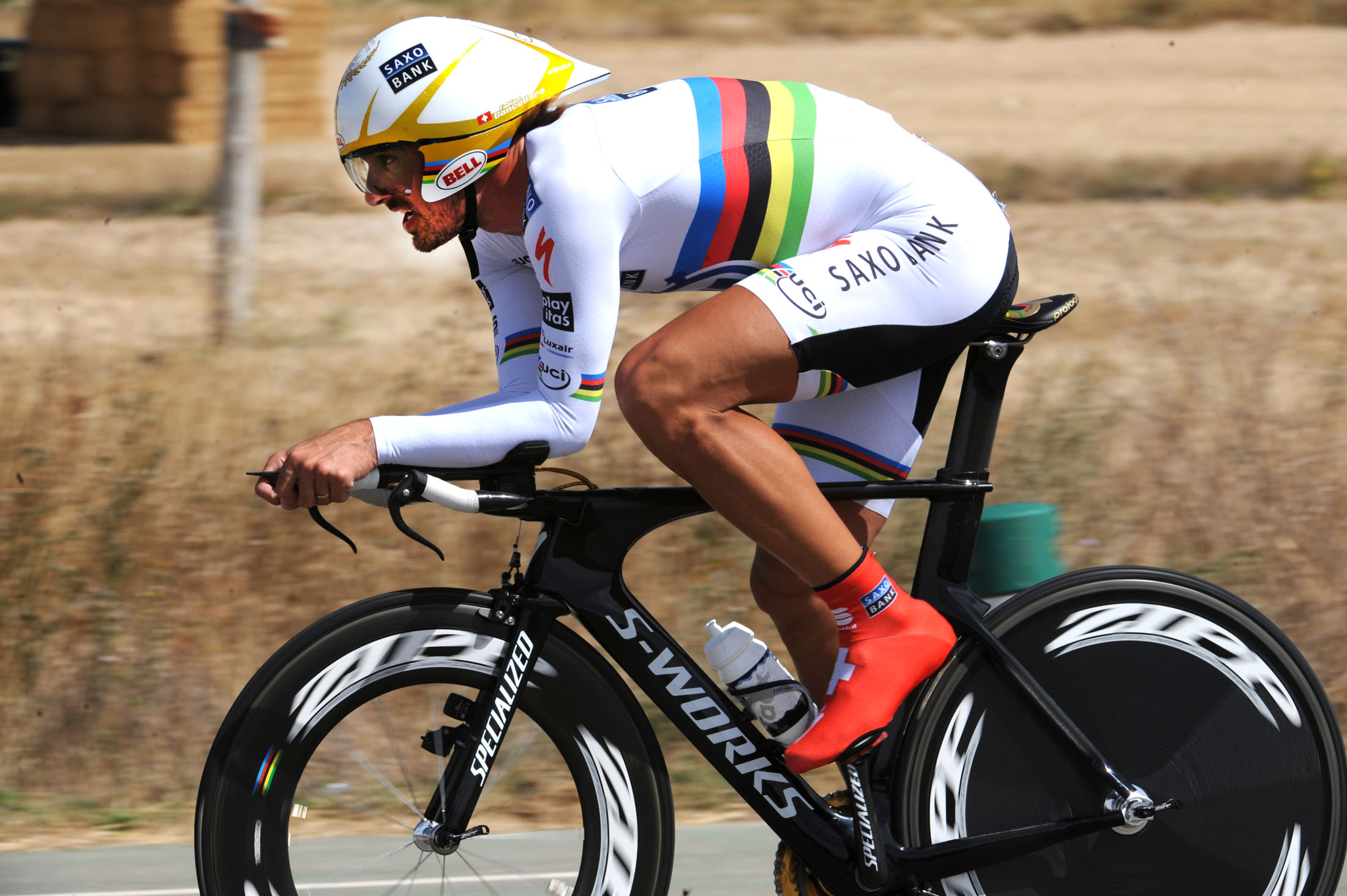Fabian Cancellara, Vuelta a Espana 2010, stage 17 ITT