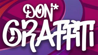 Free graffiti fonts: Don Graffiti