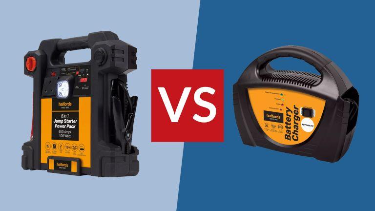 Portable Jump Starter vs Battery Charger