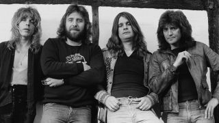 Ozzy Osbourne, Bob Daisley and Blizzard Of Ozz band