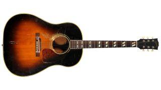 Keith Richards 1952 Gibson SJ Southern Jumbo