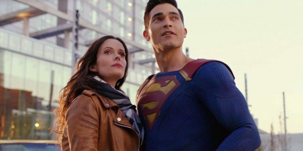 Elizabeth Tulloch and Tyler Hochlin on Superman & Lois
