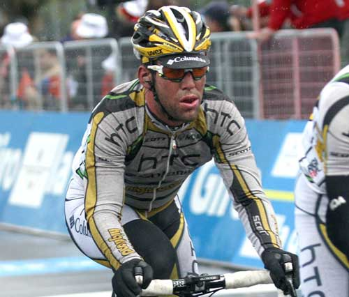 Mark Cavendish, Tirreno-Adriatico 2010, stage one