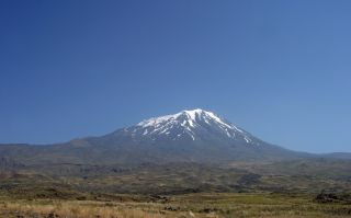 Mount Ararat in Turkey.