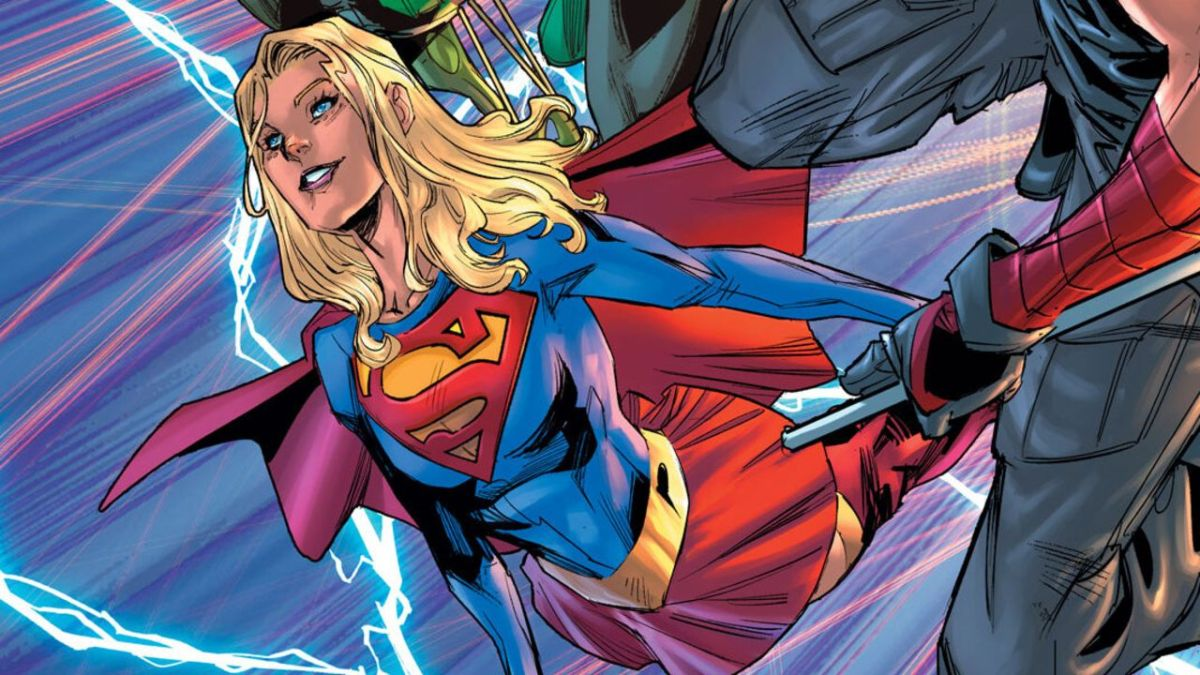 The Flash movie Supergirl logo teases a Snyderverse connection