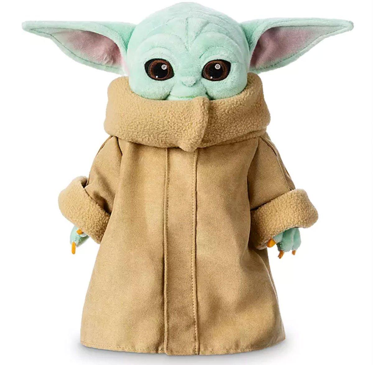 Baby Yoda plush toy from Disney+