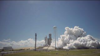 SpaceX Test-Fires Landed Rocket