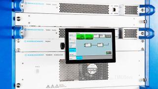 TMU9evo air cooled UHF transmitter.